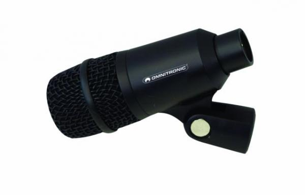 OMNITRONIC BDM-500 Bass drum microphone,, discoland.fi
