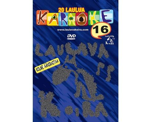 LAULAVAKOIRA VOL 16 Kotikaraoke DVD Levy, discoland.fi