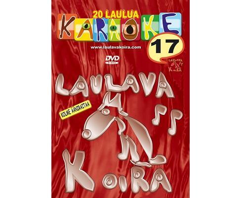 LAULAVAKOIRA VOL 17 Kotikaraoke DVD levy, discoland.fi