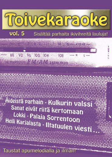 KARAOKE DVD Loppu!! Ei saatavilla!!Toive, discoland.fi