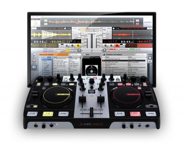 MIXVIBES LOPPU!!U-MIX CONTROL Pro DJ Mid, discoland.fi