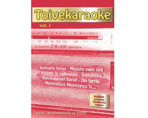 KARAOKE DVD Toivekaraoke Vol. 1 DVD kara, discoland.fi