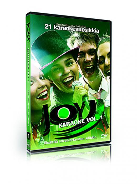 JOYKARAOKE VOL 1 21 Hittiä karaoke DVD , discoland.fi