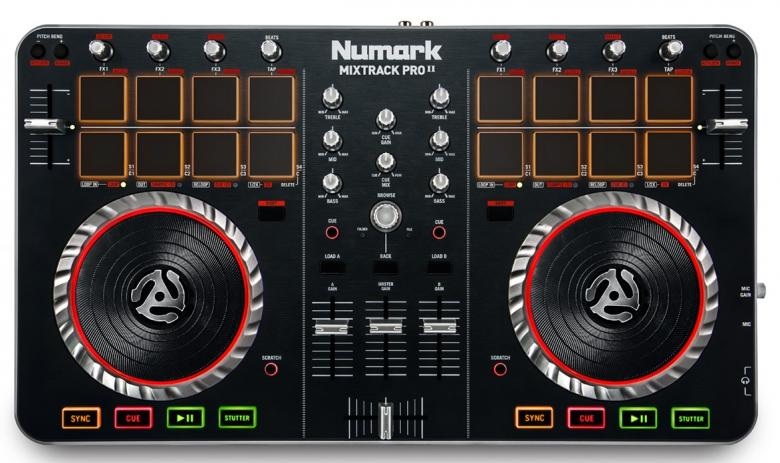 NUMARK DJ-kontrolleri Mixtrack PRO 2 Dig, discoland.fi