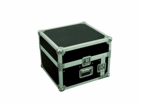 OMNITRONIC Kuljetuslaatikko Laptop telineellä! Special Combo Case LS4 laptop desk 6U, Professional flight case for 483 mm units (19