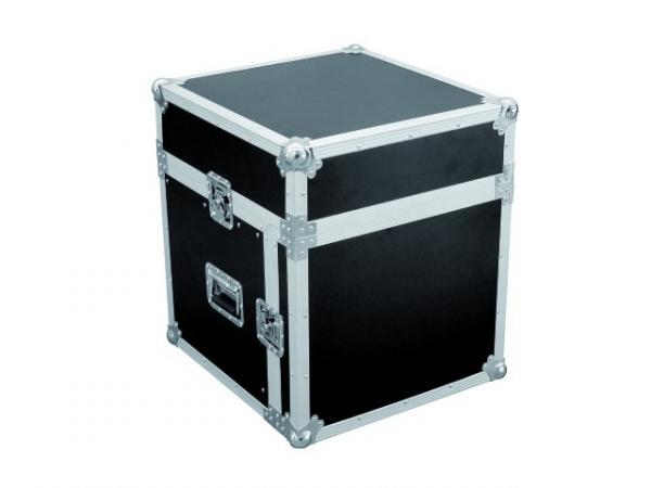 OMNITRONIC Special Combo Case LS4 laptop desk 10U, Professional flight case for 483 mm units (19