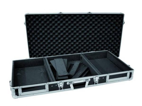 ROADINGER Kuljetuslaatikko DIGI-1 kahdelle CD-soittimelle ja 12