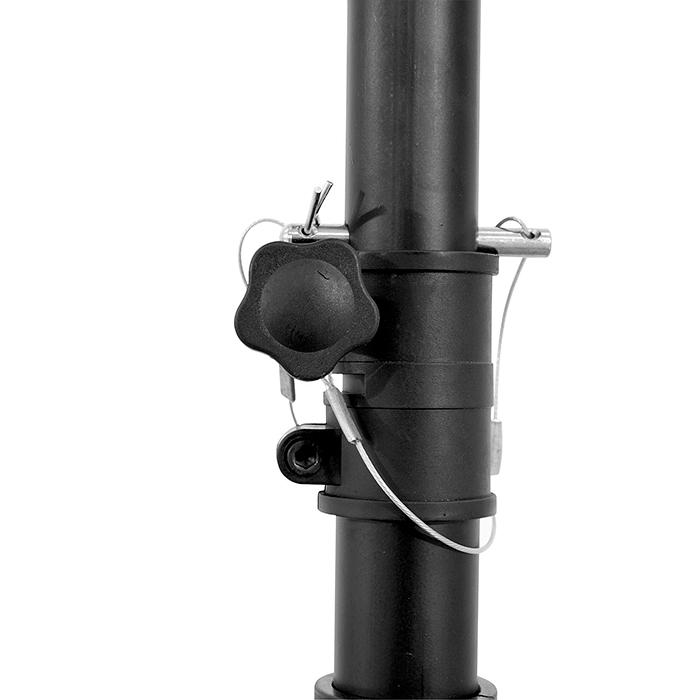 EUROLITE STV-40-WOT Valoteline alumiinista ilman poikkipuomia, alumiinia. Sopii mm. KLS LED-sarjoihin! Mitat kokoontaitettuna 1.59 x 0.18 x 0.15 m  sekä paino 5.0kg. Maksimi nostokorkeus 3.4m.