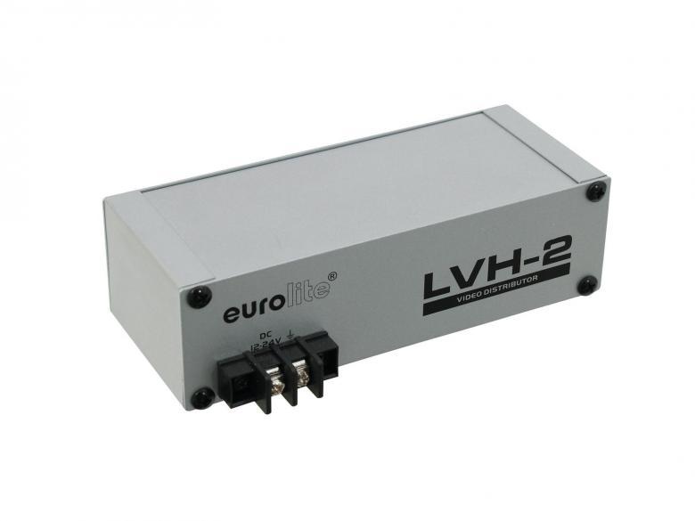 EUROLITE LVH-2 Videovahvistinjakaja 1 tu, discoland.fi