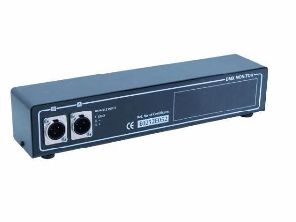 EUROLITE FUTURELIGHT DMD-512 DMX Monitor, discoland.fi