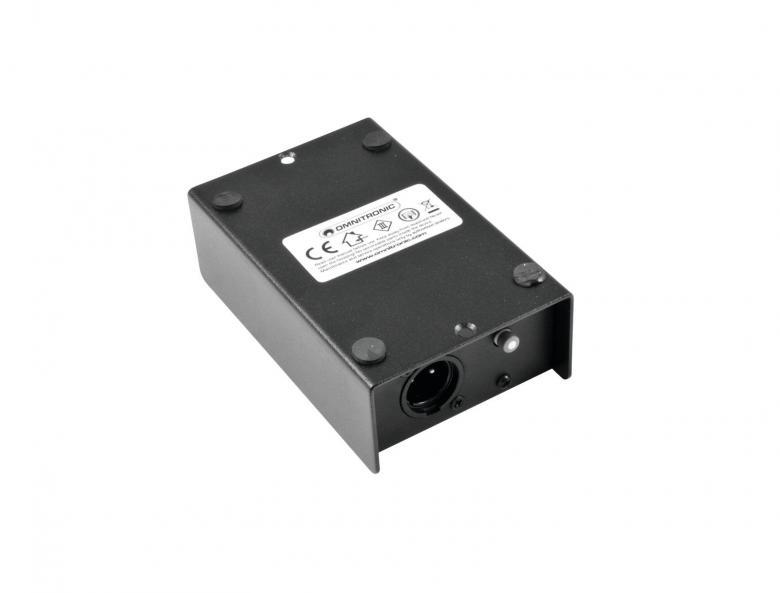 OMNITRONIC LH-053, Passiivinen DI boxi passive DI-box. Näppärä keikalle, koska menee erittäin pieneen tilaan. Mitat 120 x 75 x 45 mm sekä paino 400gr. Maa katkaisin, säädettävä vaimennus -0/20/40db.