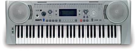 GEM GK 320 arranger keyboard, dynaamisil, discoland.fi