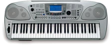 GEM GK 380 arranger keyboard, dynaamisil, discoland.fi