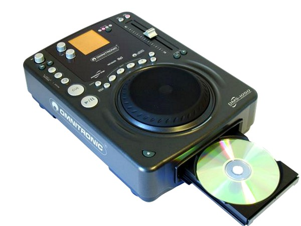 OMNITRONIC DMS-1050 MP3 workstation, MP-3 dj cd soitin