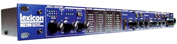 LEXICON MX200 Stereoefektilaite, VST/AU -plugintoiminto, USBDual reverb/ effects processor