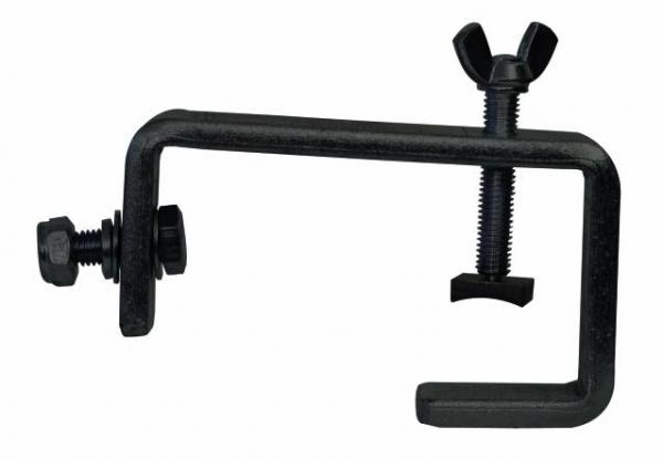 EUROLITE Loppu, uusi TH-52STH-50H theatre-hook for 50mm pipe, Only for the installation at horizontal truss! Max. 50kg, black