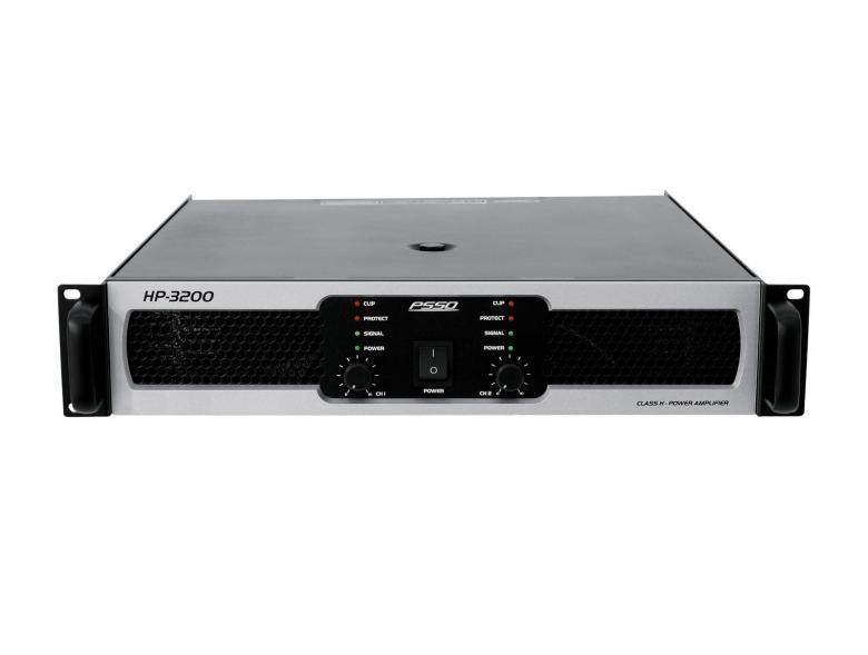 PSSO HP-3200 Päätevahvistin 3200W, amp, discoland.fi