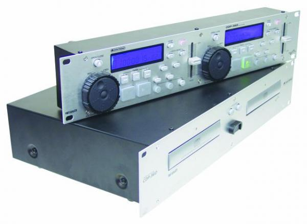 OMNITRONIC POISTUNUT...TUOTE...Asiakaspalautustuote, 1kpl, erikoishintaan! CDP-360 Double CD-player silver