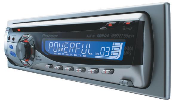 PIONEER POISTUNUT... TUOTE...DEH- 40MP Pyöritettävä äänenvoimakkuus säädin, Kaukosäädin vakiona, MOSFET 4x50W