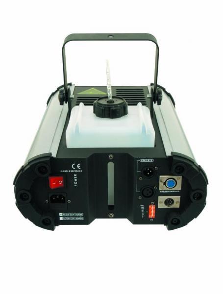 EUROLITE NX-200 Smoke Machine 1800W + Timer controller, Powerful DMX-controlled Prosessional savukone