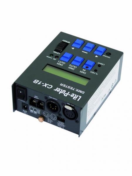 LITE-PUTER CX-1B, Digital DMX-tester, DMX signaalin testaukseen