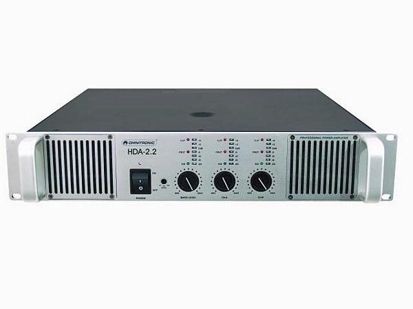 OMNITRONIC HDA-2.2 P��tevahvistin 670W, , discoland.fi