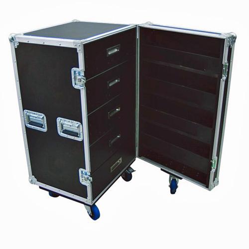 ROADINGER Kuljetuslaatikko vetolaatikostolla ja wheel boardilla yleiskäyttöön.