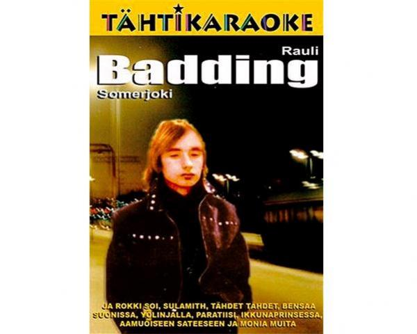 KARAOKE DVD Tähtikaraoke Rauli Badding , discoland.fi