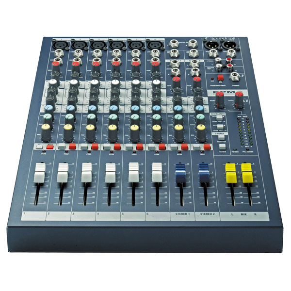 SOUNDCRAFT EPM6 studio, live mikseri 6x , discoland.fi
