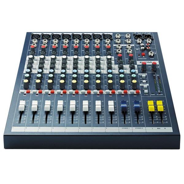 SOUNDCRAFT EPM8 studio pa mikseri- monik, discoland.fi