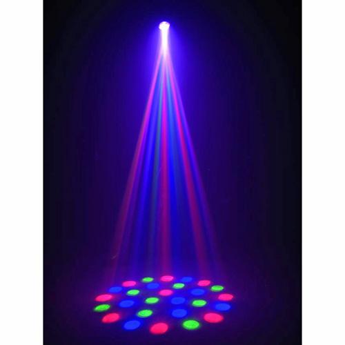 EUROLITE Demo Poisto!LED MF-6 RGB DMX LED Flower Valoefekti, Flower Effect with LED-technology!
