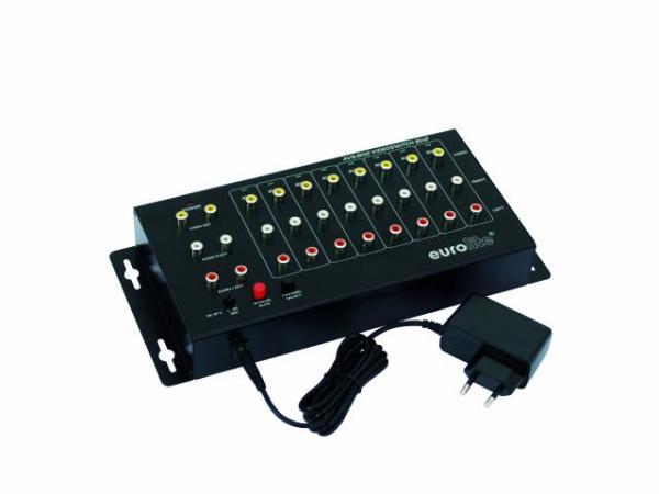 EUROLITE AVS-802 video katkaisin- jako k, discoland.fi