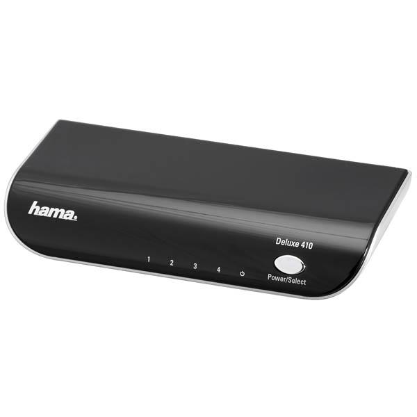 HAMA HDMI Switch Deluxe 410 4in-1out, HD, discoland.fi