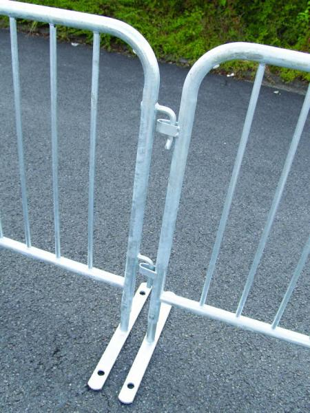 DL PRO Turva-aita, Cutoff 2,5m x 1,1m, Anti-personnel grating for protection at events