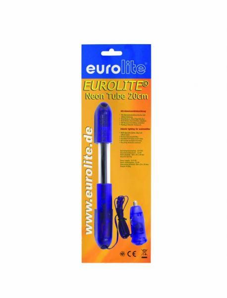 EUROLITE 20cm UV Tube complete fixture 12V,  Helppokäyttöinen UV setti, 1m virtajohto, tupakansytytinpistoke!