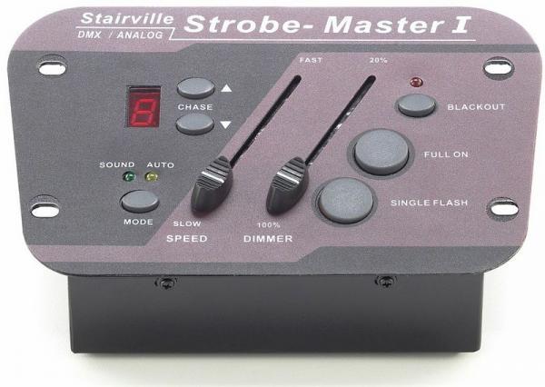 STAIRVILLE Strobe Master 1, 1x DMX/ 4x a, discoland.fi