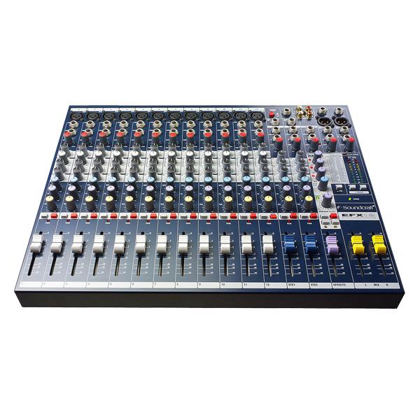 SOUNDCRAFT EFX12 PA mikseri efektilaitte, discoland.fi