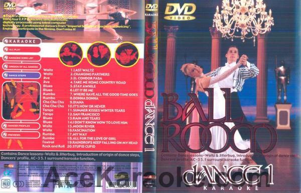 BALLROOM DANCE Vol 1.DVD Tanssisali hiti, discoland.fi