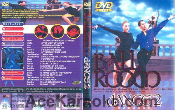 BALLROOM DANCE Vol 2.DVD Tanssisali hiti, discoland.fi