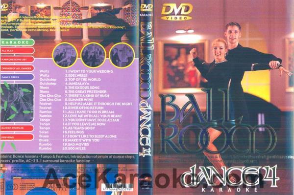 BALLROOM DANCE Vol 4.DVD Tanssisali hiti, discoland.fi