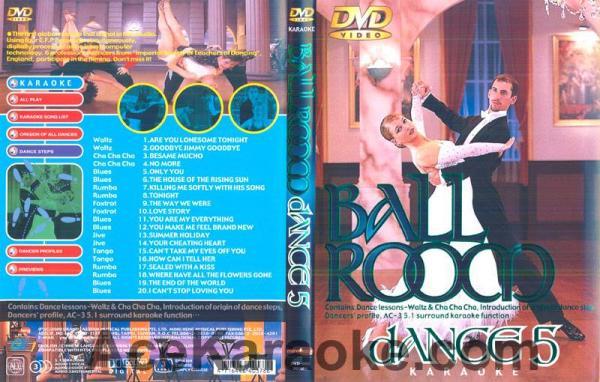 BALLROOM DANCE Vol 5.DVD Tanssisali hiti, discoland.fi