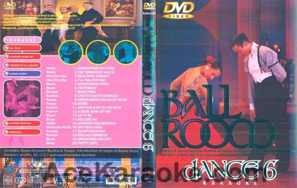 BALLROOM DANCE Vol 6.DVD Tanssisali hiti, discoland.fi