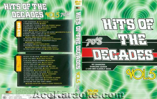 HITS OF THE DECADES 70- Luvun hitit VOL 5. DVD