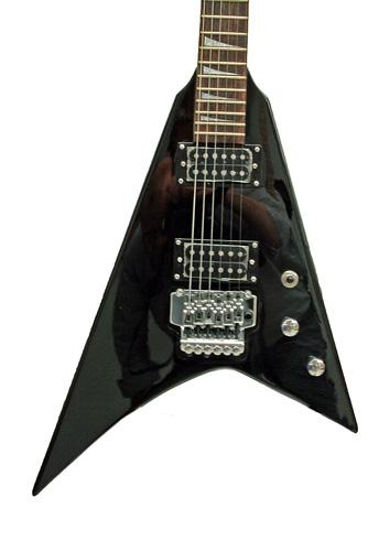 TJP Music Instruments TEG-031 JK Randy-Style Black, väri musta