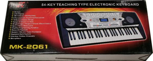 TJP Music Instruments MK-2061, 54 Keys Standard Keyboard, syntikka(tuote loppu)