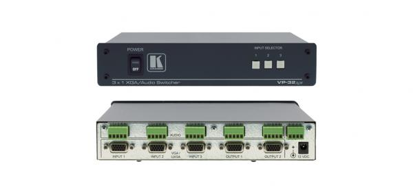 KRAMER VP-32K, VGA & UXGA 3>2 valitsin D, discoland.fi