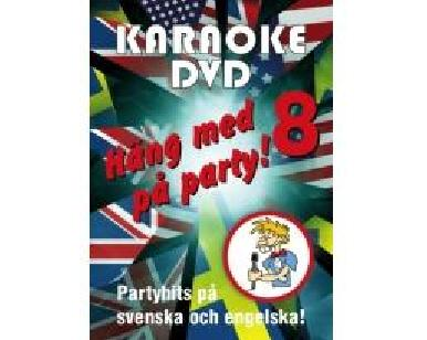 KARAOKE DVD Häng Med På Party Vol 8 (D, discoland.fi