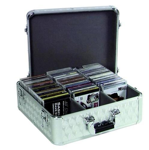 OMNITRONIC CD-laukku DJ- ja karaokekäyttöön, musta ja hieno