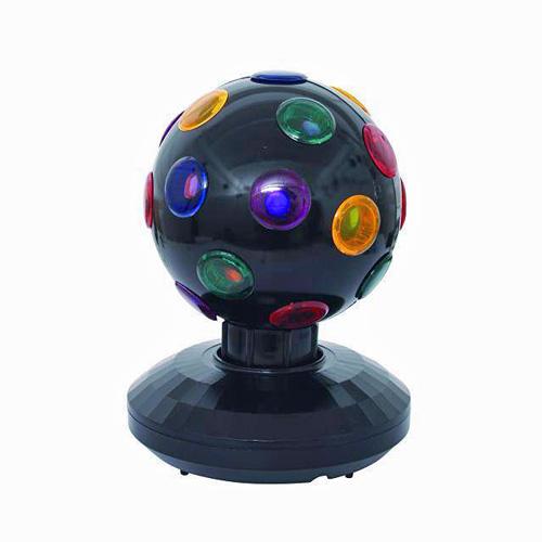 EUROLITE Mini Single Ball with 12V/7W, Hauska Mini Valoefekti kotikäyttöön!