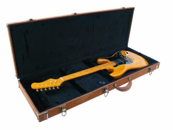 POISTO Dimavery Puinen kitara Case, väri Angola. POISTO!